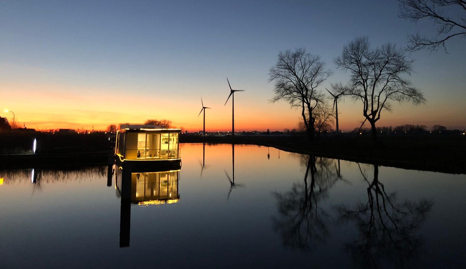 Sunset Homeboat Nieuwpoort